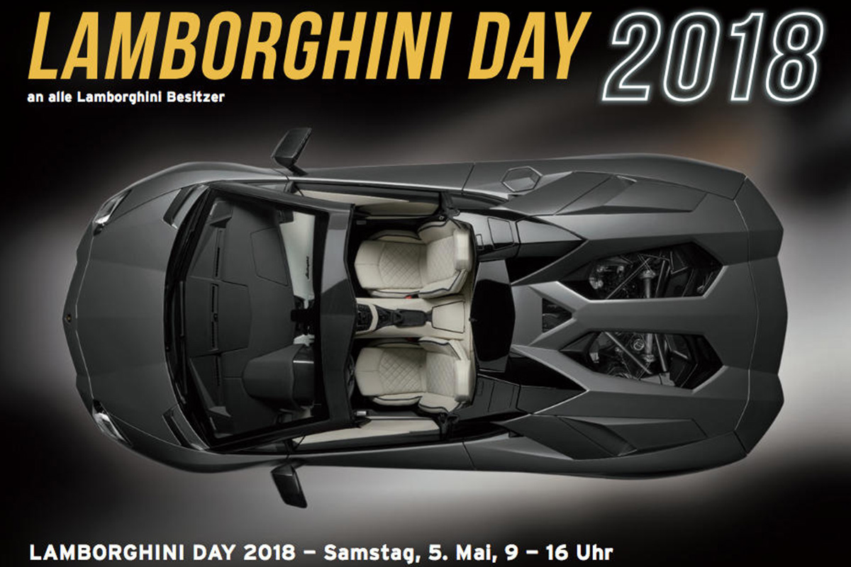 LAMBORGHINI DAY 2018